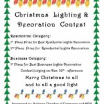 Christmas Lighting and Decoration Contest Starts NOW!