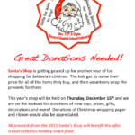 Santa's Shop Needs Your Donations for Seldovia's Kids