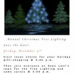 Christmas Tree Lighting Ceremony – Join Us!
