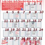 SVT December 2011 Activity Calendar