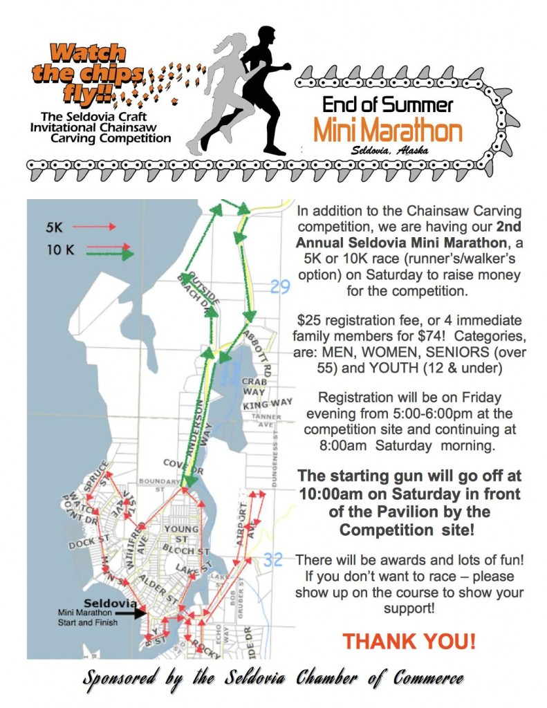 End of Summer Mini Marathon is 10 days away!