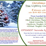 Christmas Tree Decorating Contest Deadline EXTENDED!