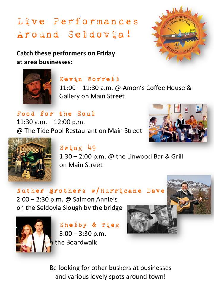 Friday Concerts About Town