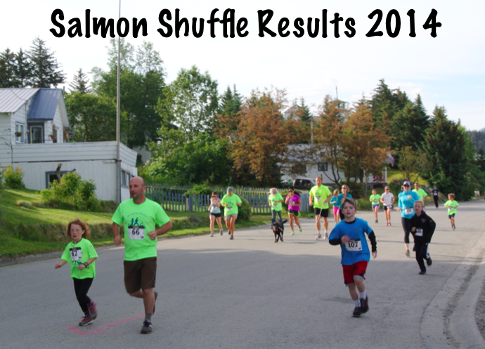 Salmon Shuffle Results