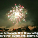 Bring in 2017 Seldovia Style!  See you at the airport 9pm Saturday night!