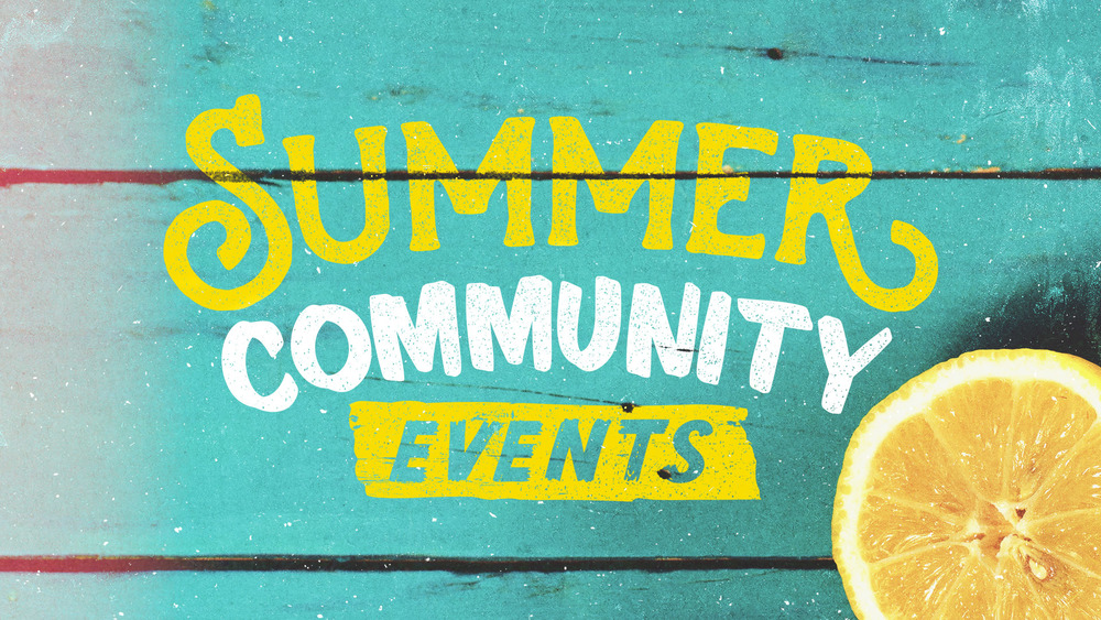 summercommunityevents