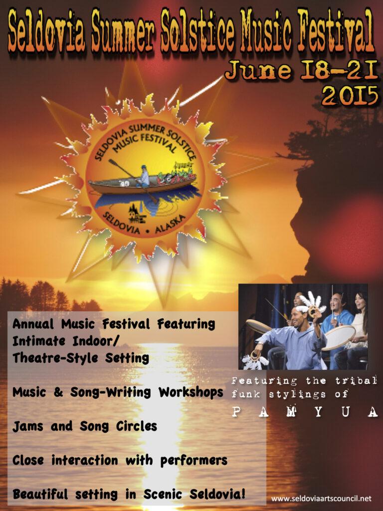 Summer Solstice Festival Promo Flyer 2015-2