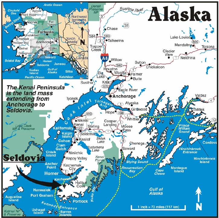 A Weekend In Charming Seldovia Alaska Random Currents