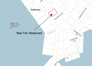KPB Map Mad Fish Restaurant
