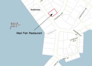 KPB Map Mad Fish Restaurant