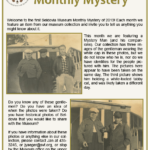 January's Seldovia Museum Monthly Mystery