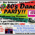 Community Dance Party – Celebrating the 80′s