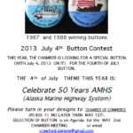 4th of July Button Contest – Celebrate 50 Years AMHS