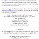 Awards, Games and Potluck – TONIGHT at SBE