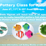 Pottery Classes for All Ages