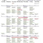June Calendar for SVT Community Services