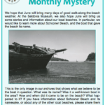 Seldovia Museum's Monthly Mystery for June