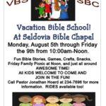 SBC's Summer Vacation Bible School