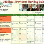SVT Health & Wellness Calendar for October is Here