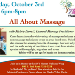 Thriving Thursdays – All About Massage