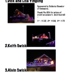 Congratulations to the Christmas Lighting Contest Winners