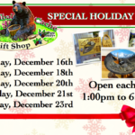 Tribal Cache Opens for Christmas Shopping