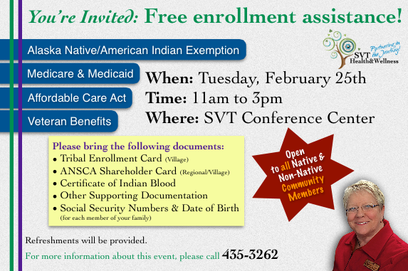 Enrollment Assistance Today!