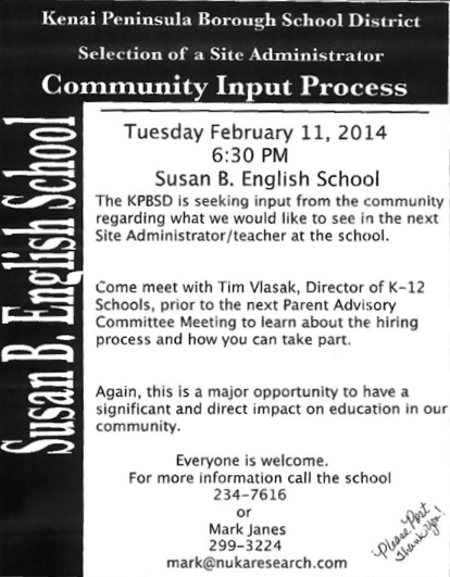 Community Input Process
