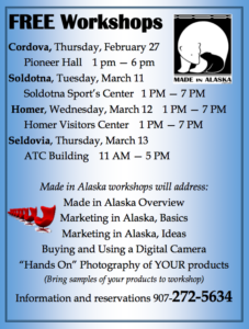 Made in Alaska Workshop