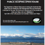 Kachemak Bay State Park & Wilderness Park Public Scoping Open House