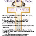 Celebrate Easter Week in Seldovia