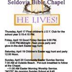 Celebrate Easter Week in Seldovia