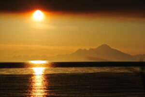 Glorious Outside Beach Sunset