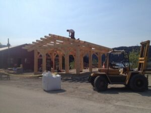 Pavilion Coming together