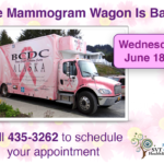 Mammogram Wagon is Back!