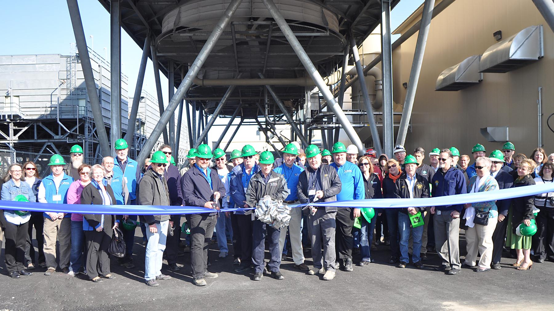 Nikiski Plant Dedication Ceremony 5-1-14