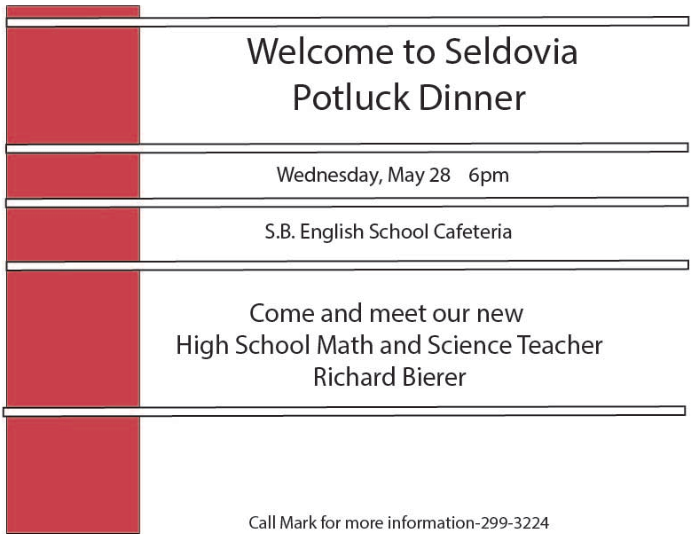 Math/Science Potluck