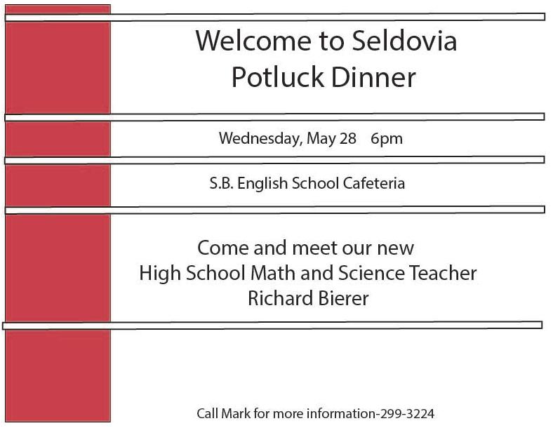 Math/Science Potluck