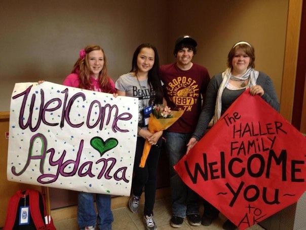 Welcome Aydana