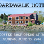 A New Coffee Shop Opens at the Boardwalk Hotel!
