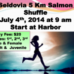 4th of July – Salmon Shuffle 5K Race