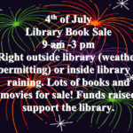 4th of July Library Book Sale