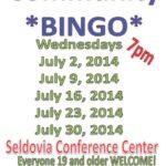 Join us for SVT Sponsored Bingo