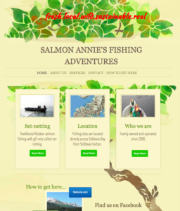 Salmon Annie's website