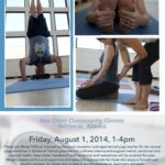 Yoga for Health Workshop Coming to SOCC this Friday, Aug 1st