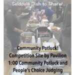 Community Potluck and Awards Ceremony Today!