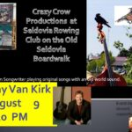 Kray Van Kirk to Perform at Crazy Crow Productions