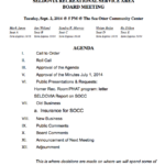 Sea Otter Community Center Board Meeting