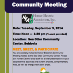 HEA Community Meeting In Seldovia