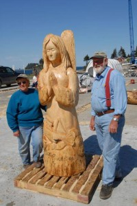 Toby & Elaine Craft -Photo from 2007 Carving Competition - photo by Jenny Chissus
